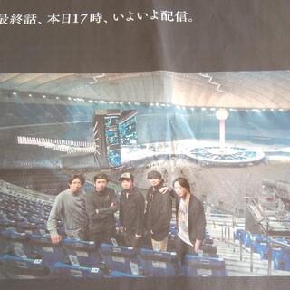 アラシ(嵐)の嵐 新聞広告 2月28日(印刷物)