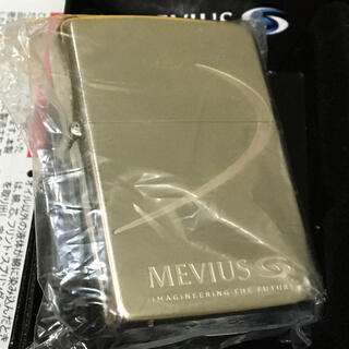 ジッポー(ZIPPO)のZIPPO MEVIUS メビウス レア 懸賞当選非売品 新品未使用 極美品(タバコグッズ)