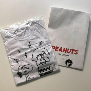 フラグメント(FRAGMENT)のフラグメント ピーナッツ コラボ ロンT美品Mサイズ(Tシャツ/カットソー(七分/長袖))