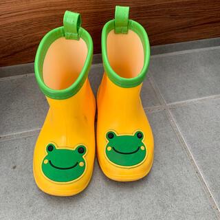 アンパサンド(ampersand)のカエル 長靴 レインシューズ 14cm(長靴/レインシューズ)
