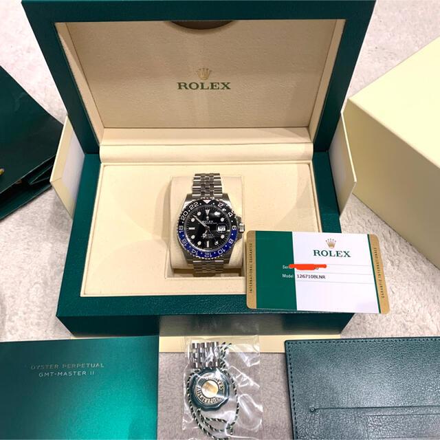 ROLEX(ロレックス)の未使用。GMTマスターⅡ!126710BLNR メンズの時計(腕時計(アナログ))の商品写真