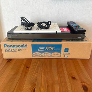 Panasonic - 【美品】Panasonic ブルーレイ DIGA DMR-BRW1000