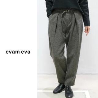エヴァムエヴァ(evam eva)のevam eva(エヴァムエヴァ)| ウールタックパンツ(カジュアルパンツ)