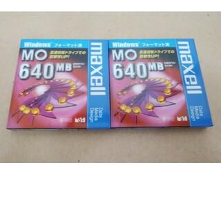 マクセル(maxell)のマクセル MO  maxell 640MB  Windows フォーマット済(PC周辺機器)