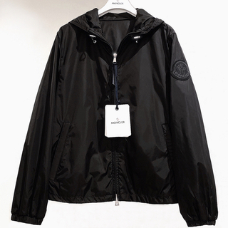 MONCLER - モンクレール MONCLER ナイロンジャケット パーカー 0 S〜M ブラック