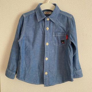 ダブルビー(DOUBLE.B)のDOUBLE.B  ダンガリーシャツ 100(Tシャツ/カットソー)