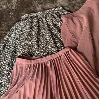 GRL - GRL プリーツスカート  小花柄フレアスカート まとめ売り 3点セット