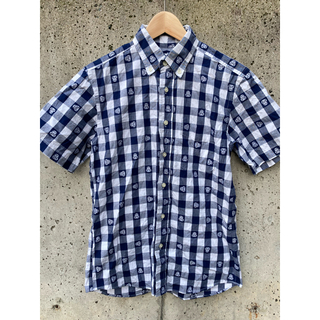 A BATHING APE - 【美品】A BATHING APE ベイプ ギンガムチェックシャツ