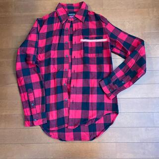 RADIO EVA  チェックシャツ L(シャツ)