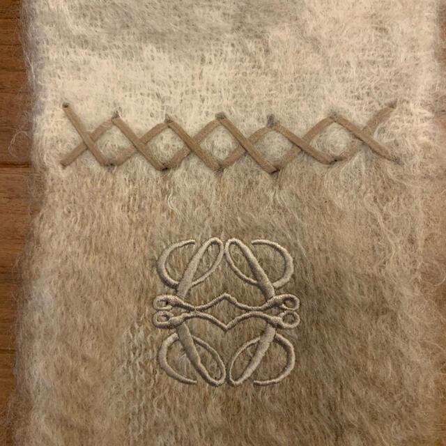 LOEWE(ロエベ)のロエベモヘアマフラー レディースのファッション小物(マフラー/ショール)の商品写真