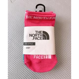 ザノースフェイス(THE NORTH FACE)のTHE NORTH FACE Baby ソックス ピンクのみ(靴下/タイツ)