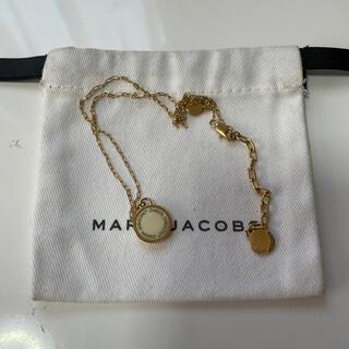 マークジェイコブス(MARC JACOBS)のMARCJACOBS ネックレスホワイト(ネックレス)