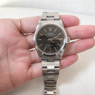 ROLEX - ROLEX エアキング メンズ 腕時計
