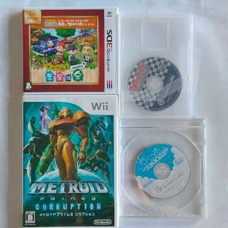ニンテンドウ(任天堂)の任天堂 Wii 3DS ゲームソフト セット(携帯用ゲームソフト)