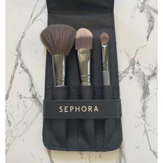 セフォラ(Sephora)のSEPHORA セフォラ メイクブラシ3本セット(ブラシ・チップ)