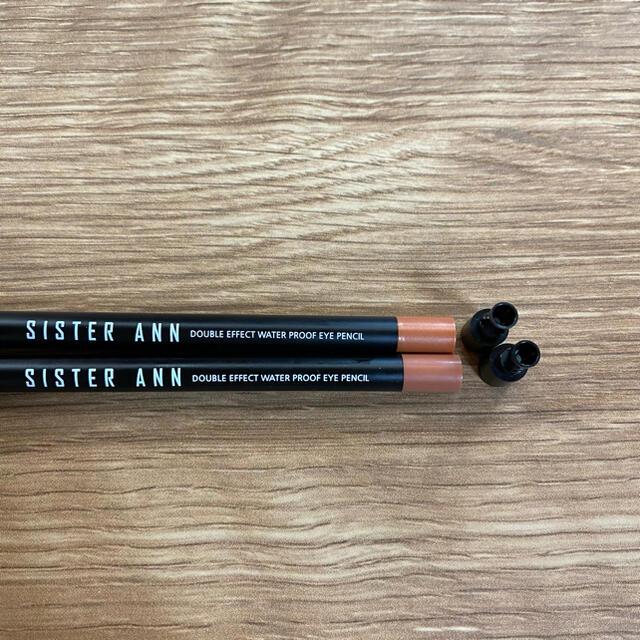 シスターアン ペンシルライナー2本セット コスメ/美容のベースメイク/化粧品(アイライナー)の商品写真