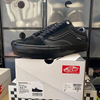 VANS - vans skate old skool pro black us9