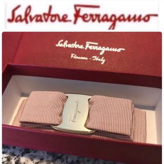 Salvatore Ferragamo - 【安心の新品未使用・極美品の現行品】サルヴァトーレフェラガモ バレッタ リボン