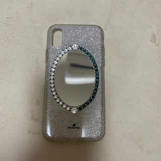 スワロフスキー(SWAROVSKI)のスワロフスキーiphone10ケース(iPhoneケース)