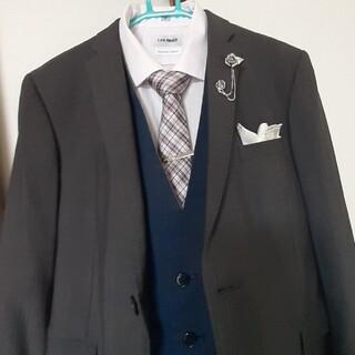 アオキ(AOKI)の結婚式 卒業式 成人式 カッターシャツ ブローチ ネクタイ(その他)