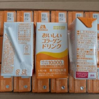 モリナガセイカ(森永製菓)の森永 おいしいコラーゲンドリンク レモン味 24本(コラーゲン)