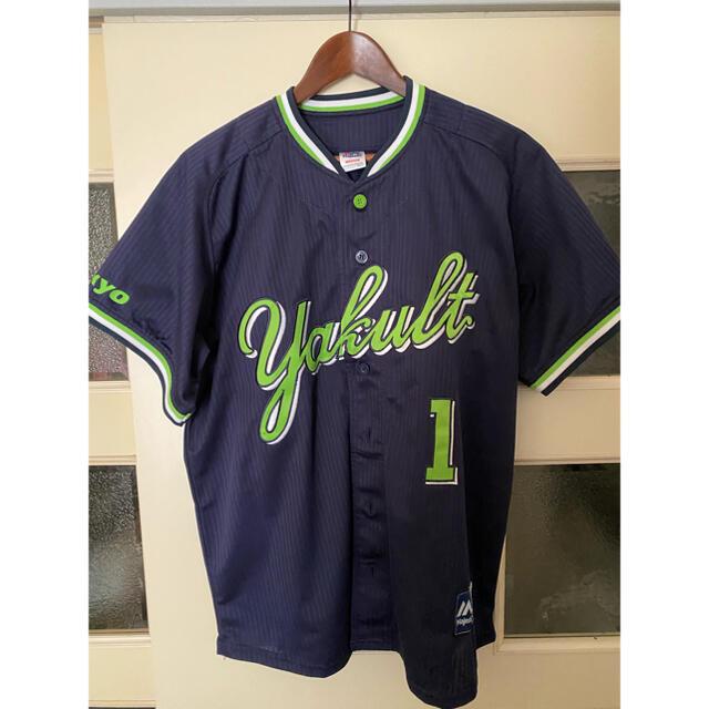 山田哲人 ユニフォーム スポーツ/アウトドアの野球(応援グッズ)の商品写真