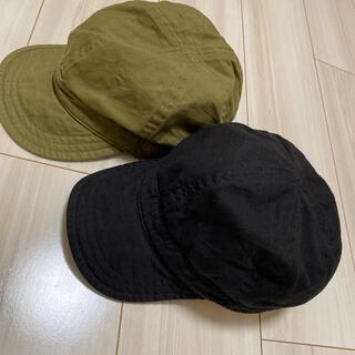 MUJI (無印良品) - MUJI 帽子 56〜59cm セット