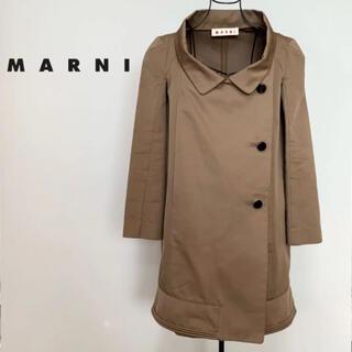 Marni - ☆良品 マルニ MARNI ラウンド ネック ミドル トレンチコート イタリア製