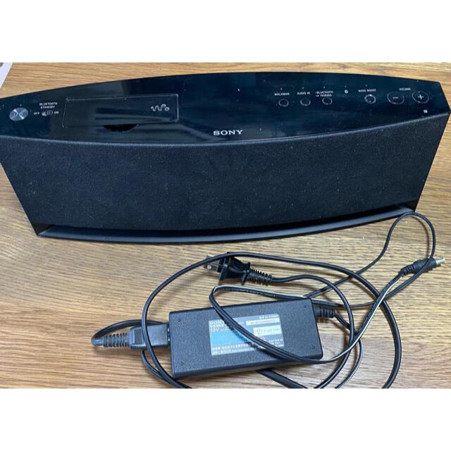SONY(ソニー)のSony スピーカー RDP-NWG400B Walkman スマホ/家電/カメラのオーディオ機器(スピーカー)の商品写真