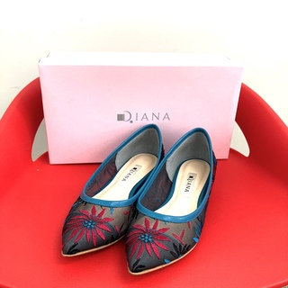 DIANA - ダイアナ 21.5  フラットシューズ パンプス 美品