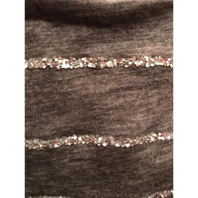sacai luck(サカイラック)のサカイラック・ワンピース・チュニック・グレー・上質・サイズM・美品 レディースのワンピース(ミニワンピース)の商品写真