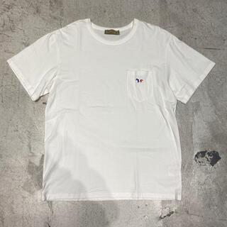 MAISON KITSUNE' - 17ss MAISON KITSUNE メゾンキツネ ポケット Tシャツ