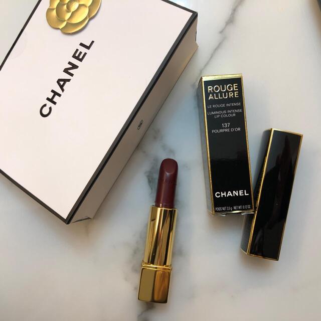 CHANEL(シャネル)のCHANEL リップスティック ルージュアリュール 137 コスメ/美容のベースメイク/化粧品(口紅)の商品写真