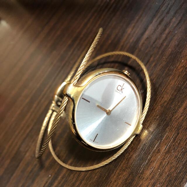 ck Calvin Klein(シーケーカルバンクライン)の※値段交渉ok※ CK カルバンクライン 腕時計 レディース ゴールド レディースのファッション小物(腕時計)の商品写真