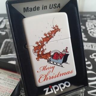 ジッポー(ZIPPO)のzippoジッポ未使用新品クリスマス(タバコグッズ)