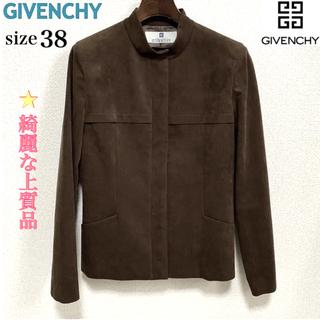 ジバンシィ(GIVENCHY)のGIVENCHY/ジバンシー レディースジャケット フェイクスエード38(9号)(ノーカラージャケット)