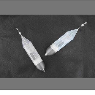 ロケット型Super遠投カゴLLサイズ2個セット(4~20号)(その他)