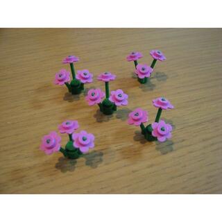 Lego - お部屋に花を咲かせましょう★送料無料★レゴ-LEGO花★ピンク★5個セット★新品