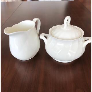ノリタケ(Noritake)のノリタケ シュガーポット&ミルクピッチャー(食器)