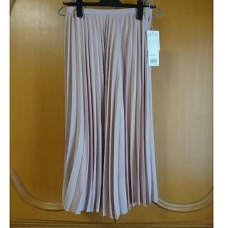 NATURAL BEAUTY BASIC - ダスティピンクのプリーツスカート