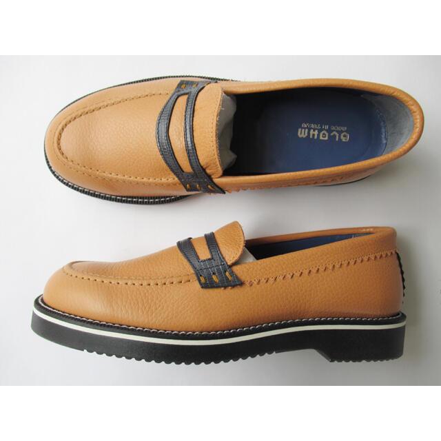 1LDK SELECT(ワンエルディーケーセレクト)のBLOHM baller 26.5cm ライトブラウン☆ブロームローファー  メンズの靴/シューズ(スリッポン/モカシン)の商品写真