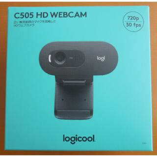 ロジクール ウェブカメラ C505