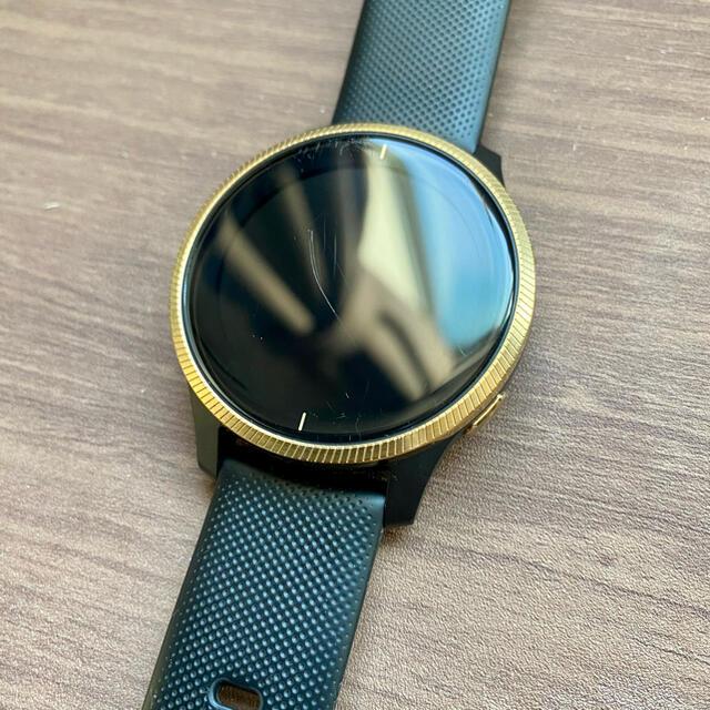 GARMIN(ガーミン)のガーミンGarmin venu GPSスマートウォッチ ゴールド メンズの時計(腕時計(デジタル))の商品写真