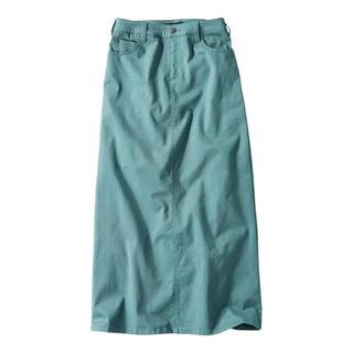 ニッセン(ニッセン)の新品 スマイルランド すごのびストレッチツイルロングスカート 88(ロングスカート)