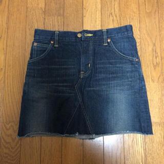 リー(Lee)のLee デニムスカート XSサイズ(ミニスカート)