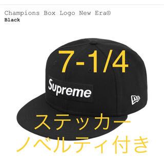 Supreme - Supreme Champions Box Logo New Era Black