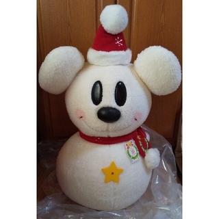 ディズニー(Disney)の【5/31までの特価】ミッキー⛄️雪だるま特大🌟25周年限定🌟(ぬいぐるみ)