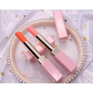 新品 口紅 リップグロス リップ 中国コスメ 保湿 艶 ピンク オレンジ(口紅)