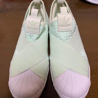 adidas - アディダス 24.0 スリッポン