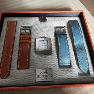 Hermes - HERMES エルメス スクエアウォッチ